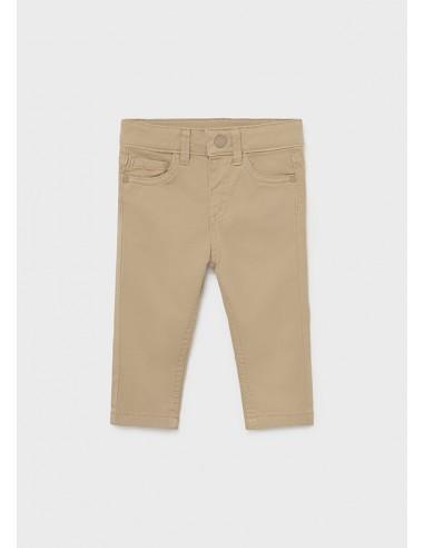 Pantalon 5b slim fit basico - Roble